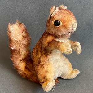 Vintage Steiff Squirrel Toy