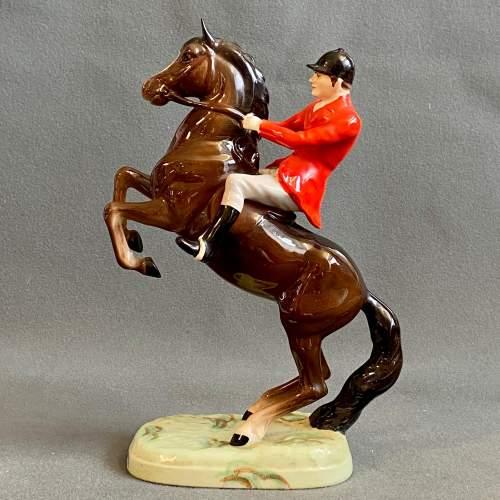 Beswick Rearing Huntsman Figure image-1