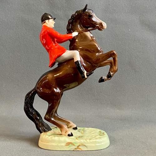 Beswick Rearing Huntsman Figure image-2