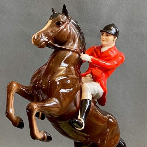 Beswick Rearing Huntsman Figure image-3