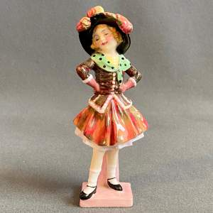 20th Century Royal Doulton Pearly Girl Figure