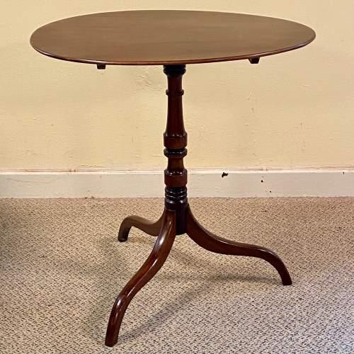 Regency Period Mahogany Snaptop Table image-1
