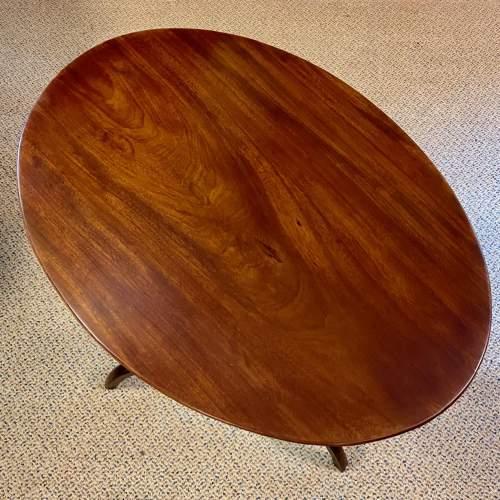 Regency Period Mahogany Snaptop Table image-3