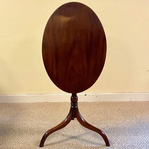 Regency Period Mahogany Snaptop Table image-5