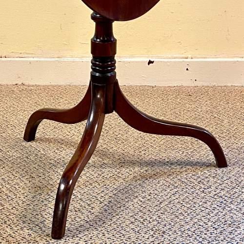 Regency Period Mahogany Snaptop Table image-6