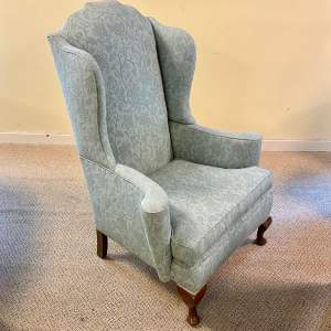 Early 20th Century Queen Anne Style Armchair