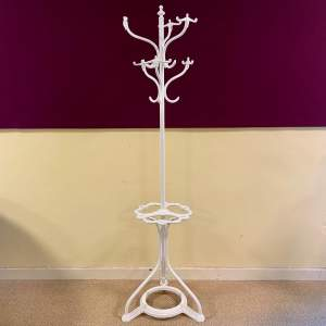 Late 19th Century Victorian Cast Iron Coatstand