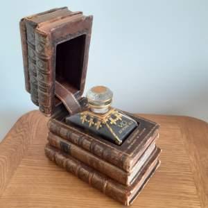 Antique Hidden Book Decanter