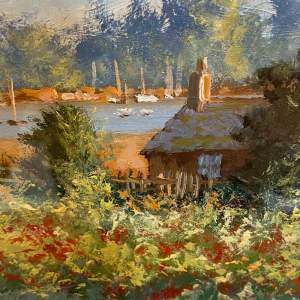 Poppies by Cottage Oil on Board