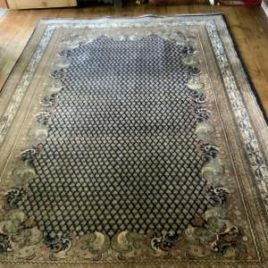 Superb Quality Hand Knotted Indo-Persian Rug In Botech Design