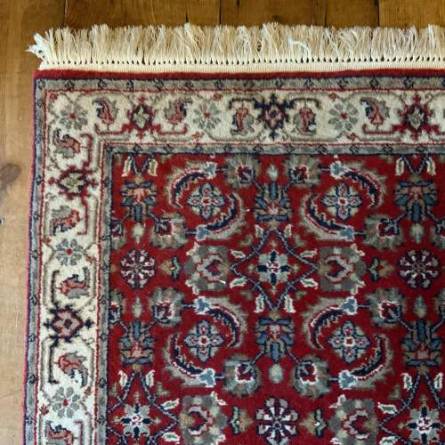 Stunning Hand Knotted Indo-Persian Runner In Herati Design image-3