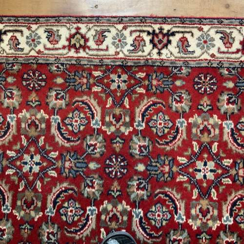 Stunning Hand Knotted Indo-Persian Runner In Herati Design image-5