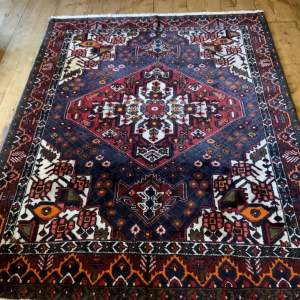Superb Old Hand Knotted Persian Rug Malayir
