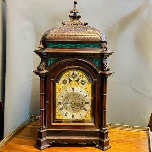 19th Century Chinese Chippendale Boardroom Clock