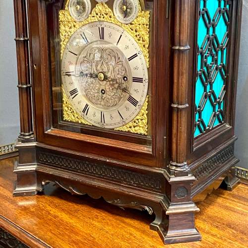 19th Century Chinese Chippendale Boardroom Clock image-3