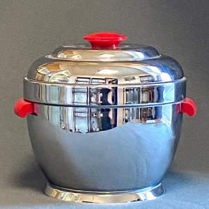Art Deco Chrome Thermos Ice Bucket