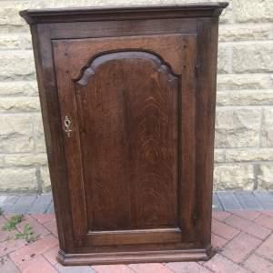 19th Century Oak Corner Cupboard
