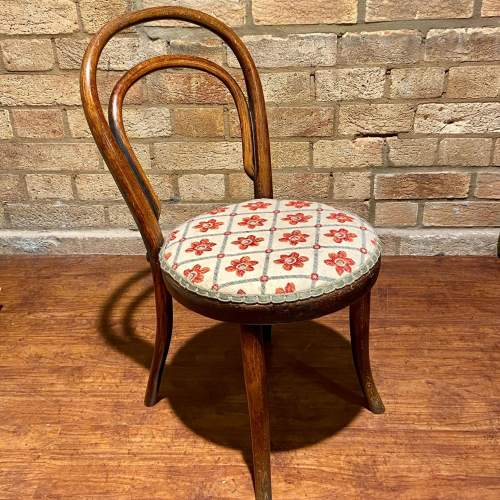 Early 20th Century Bentwood Childs Chair image-1