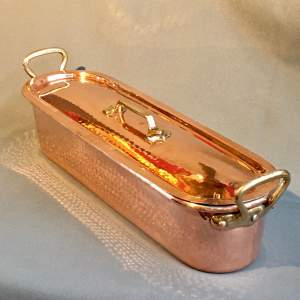 Good Quality Copper Fish Kettle