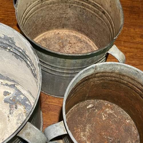 Vintage Galvanised Planter image-4