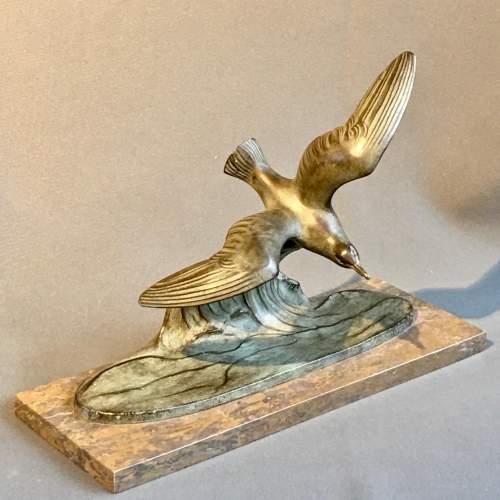 20th Century Art Deco Seagull Figure image-1