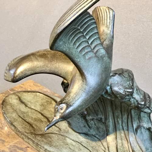 20th Century Art Deco Seagull Figure image-3