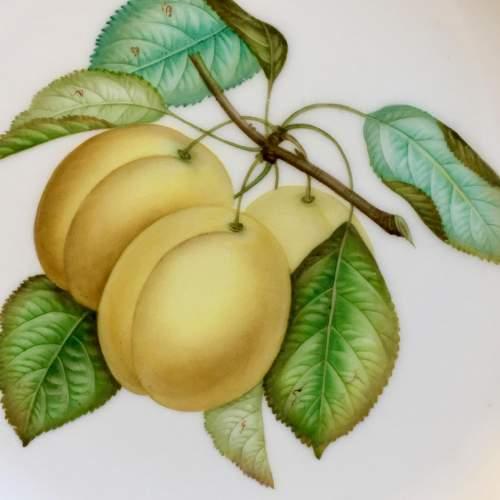 19th Century Coalport Fruit Plate image-2