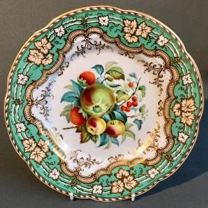 Mid 19th Century Ridgway Fruit Plate