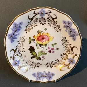 19th Century Daniel Floral Plate