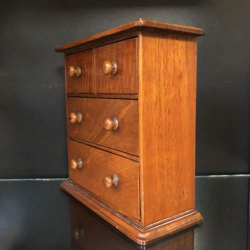 Victorian Miniature Chest of Drawers image-2