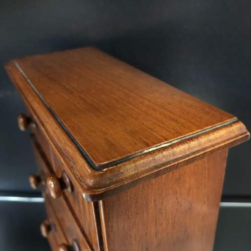 Victorian Miniature Chest of Drawers image-5