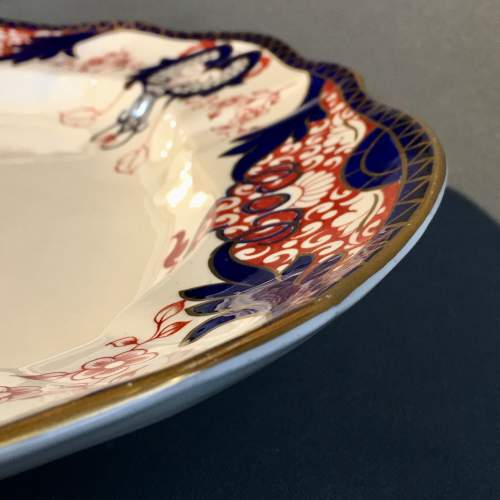 19th Century Large Crown Derby Meat Platter image-4