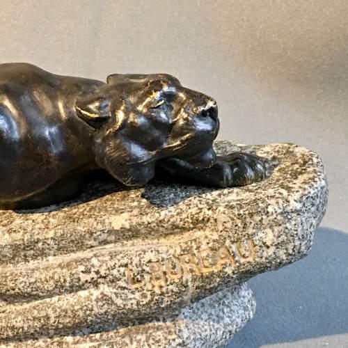 19th Century Bronze Figure Of Tiger image-3