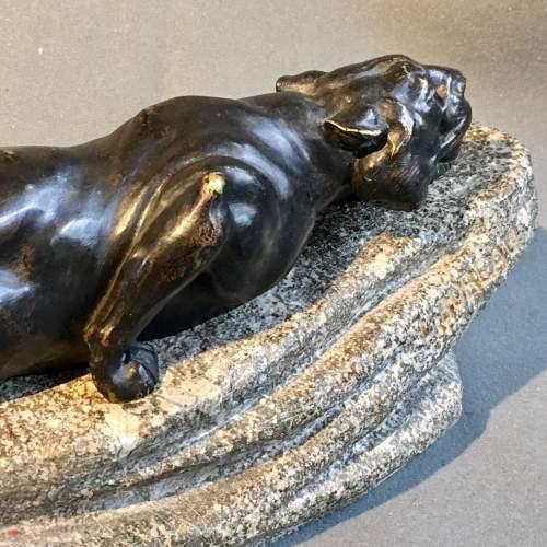 19th Century Bronze Figure Of Tiger image-4