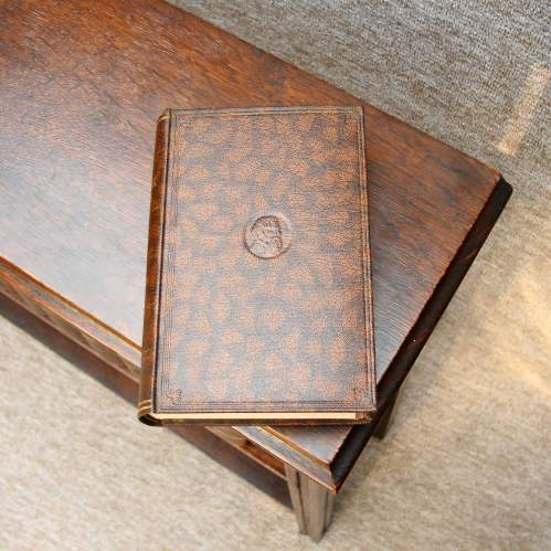 Mahogany Book Case with Dickens Books image-6