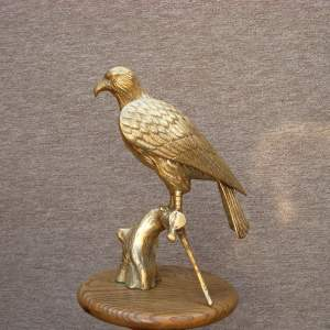 20th Century Cast Brass Eagle