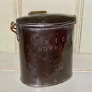 Small Steel Milk Can