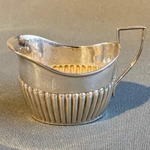 Victorian Birmingham Silver Jug
