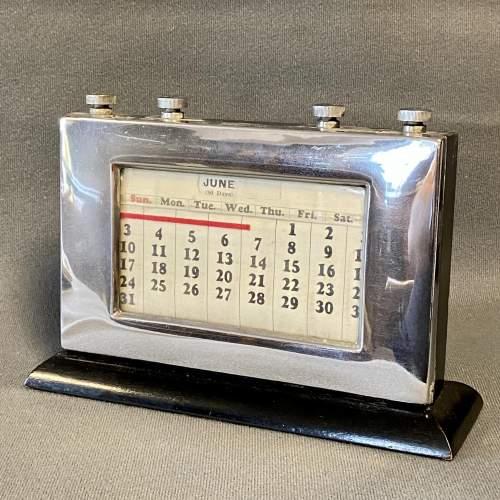Vintage Perpetual Calendar image-1