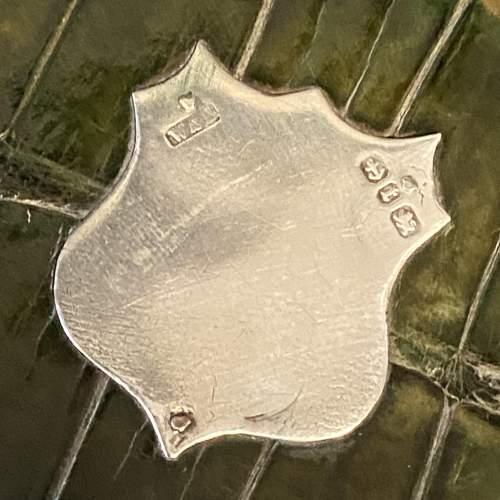Victorian Crocodile Skin Cigar Case image-4