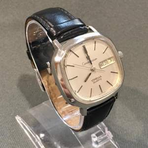 Rare Vintage Omega Constellation Stainless Steel Watch