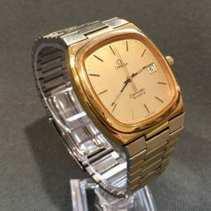 20th Century Gold Plated Omega Seamaster Watch