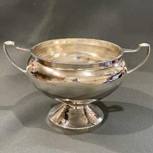 Art Deco A.E.Jones Silver Twin Handled Bowl