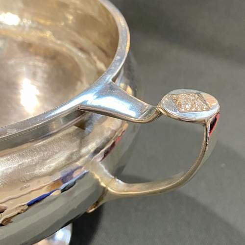 Art Deco A.E.Jones Silver Twin Handled Bowl image-3