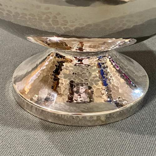 Art Deco A.E.Jones Silver Twin Handled Bowl image-4