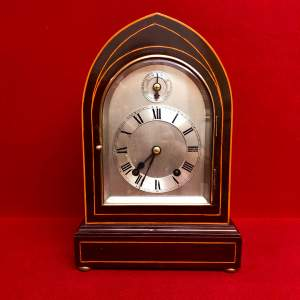 19th Century German Ting Tang Striking Mantel Clock