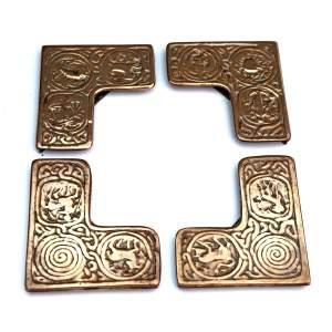 Tiffany Studios New York Zodiac Blotter Corners