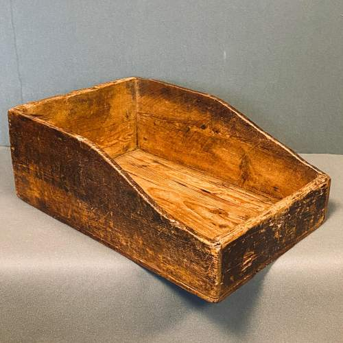 Victorian Filing Tray from a Hull Shipping Office image-1
