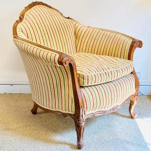 Late 19th Century French Armchair