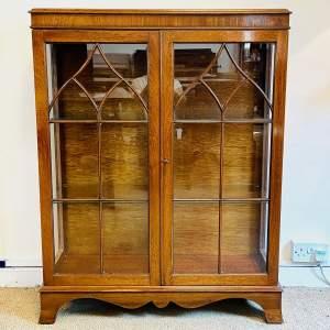 Mid 20th Century Mahogany Display Cabinet